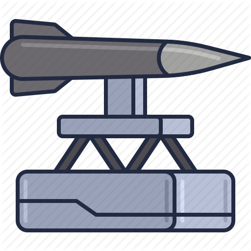 Missile, Missile Launch, Missile System, Rocket, Space Catapult Icon