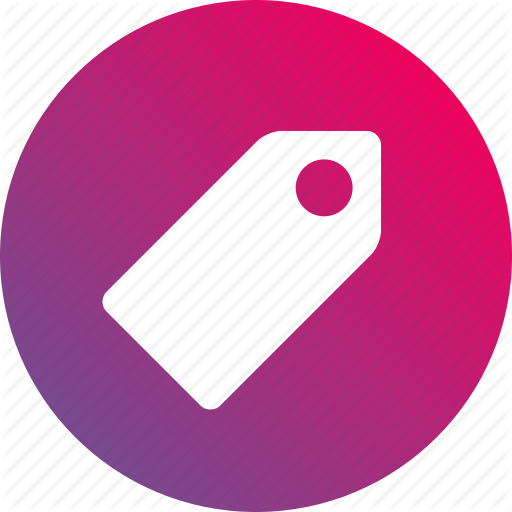 Categories, Category, Classification, Gradient, Tag, Tags Icon