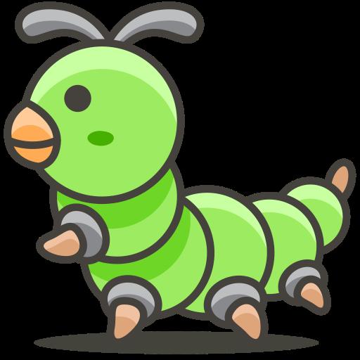 Caterpillar, Animal Icon Free Of Another Emoji Icon Set