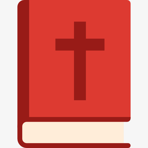 Christian Holy Book, Book Clipart, Cross Logo, Catholic Church Png