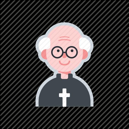 Avatar, Catholic, Character, Priest, Religion Icon
