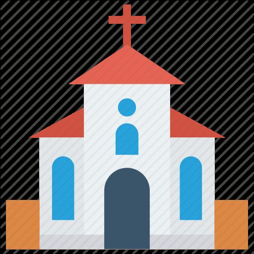 Building, Catholic, Church, Estate, Real Icon