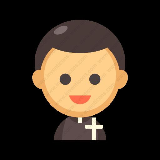 Download Priest Icon Inventicons