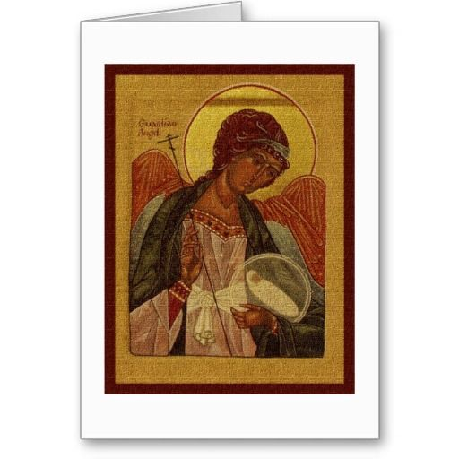 Orthodox Guardian Angel Card Things I Love