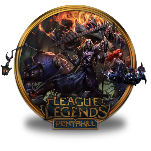 Pentakill, Team Icon Free Of League Of Legends Gold Border Icons