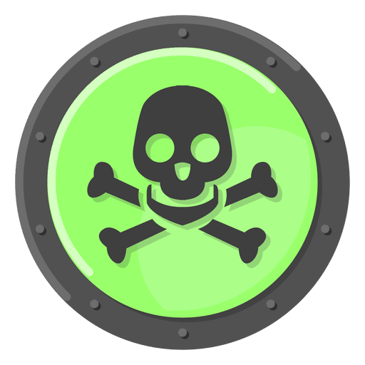 Warning Vector Poison Huge Freebie! Download For Powerpoint