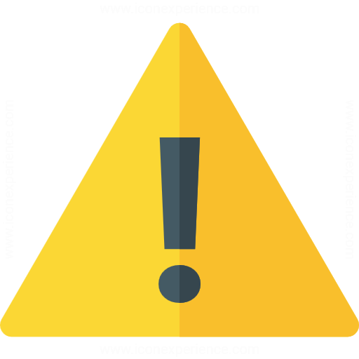 Iconexperience G Collection Sign Warning Icon