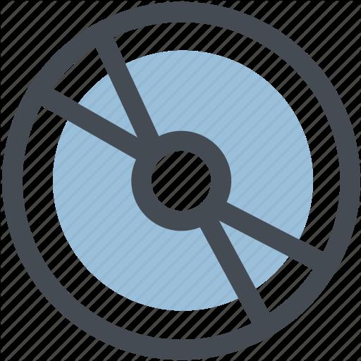 Audio, Cd, Compact Disk, Computer, Digital, Dish, Write Cd Icon