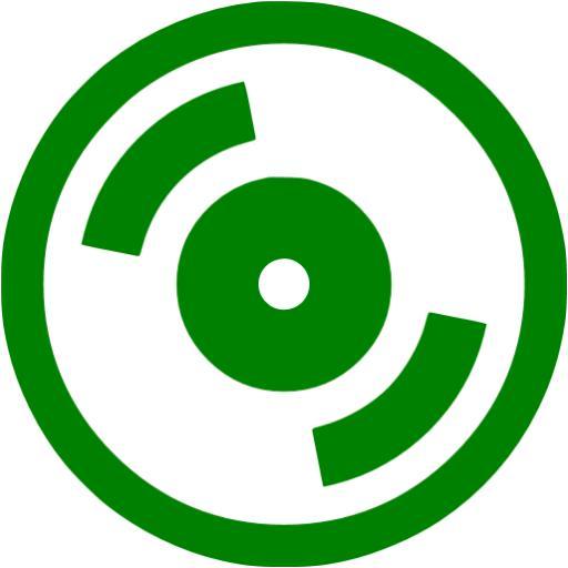 Green Cd Icon