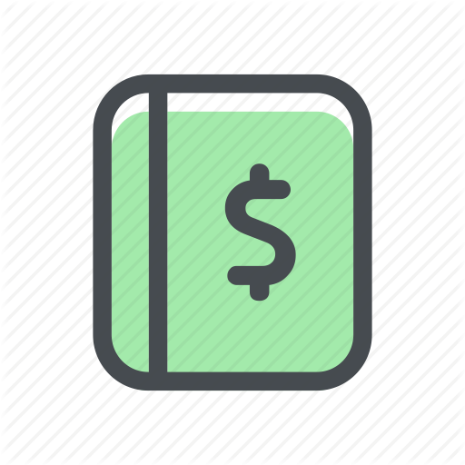 Book, Finance, Financial, Money, Notebook, Student, Study Icon