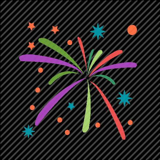 Birthday, Celebration, Event, Festival, Fireworks, Fun, Party Icon