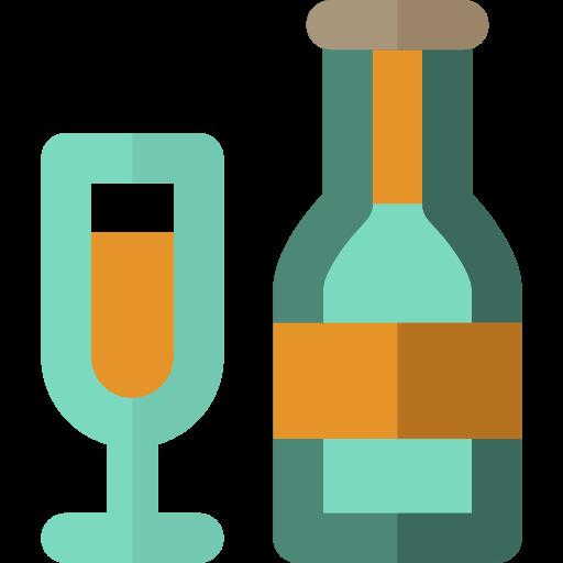 Glasses, Party, Celebration Icon