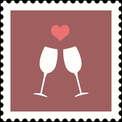 Love, St Valentine, Drink, Heart, Celebration Icon Free