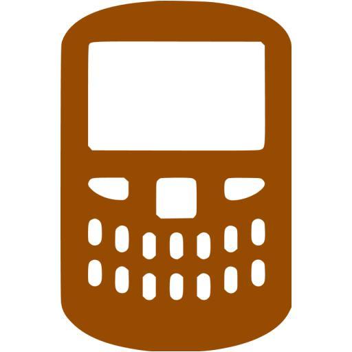 Brown Blackberry Icon