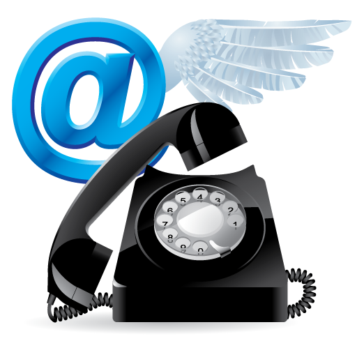 Phone Fax Email Icons Images