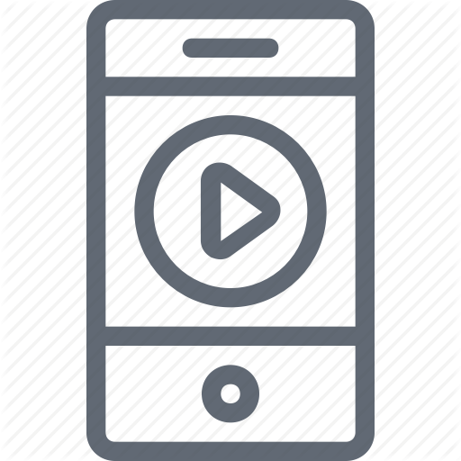 Cellphone, Media Player, Mobile, Mobile Video, Phone, Smartphone Icon