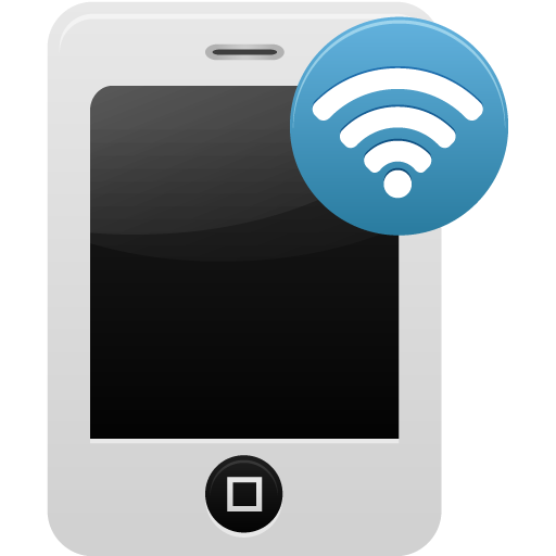 Mobile Phone Wifi Icon Download Free Icons