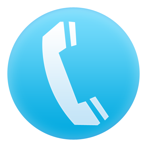 Blue Phone Icon Transparent Png Clipart Free Download