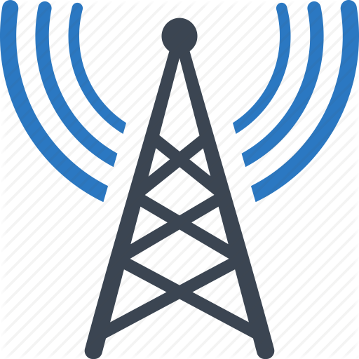 Communication Tower, Radio, Tower Icon