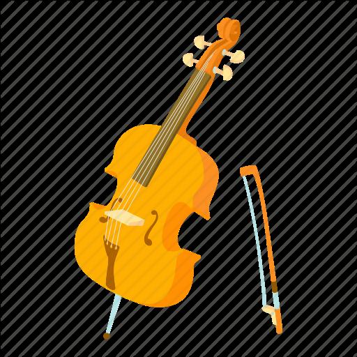 Bass, Cartoon, Cello, Contrabass, String, Viola, Violn