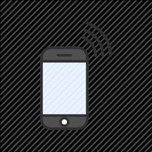 Call, Cellular Phone, Phone, Signal Icon
