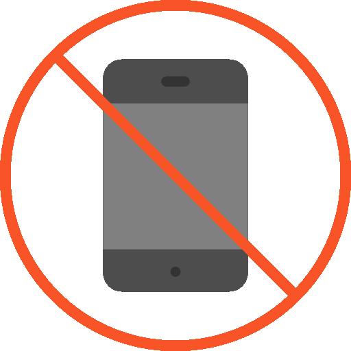 No Phone, Not Allowed, No Cellphone, No Phones, No Cellular Phone