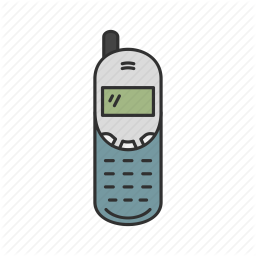 Old Cellphone Transparent Png Clipart Free Download