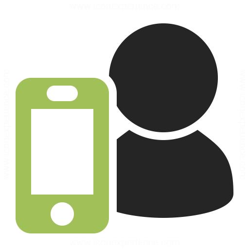 User Smartphone Icon Iconexperience