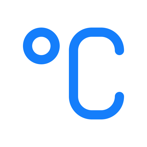 Degree, Celsius Icon