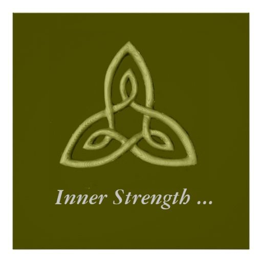 This Is A Celtic Symbol That Represents Inner Strength The Inner