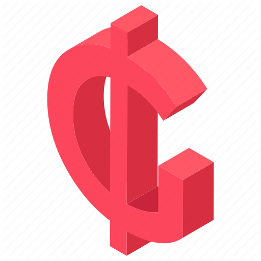 Cent, Cent Currency, Cent Sign, Cent Symbol, Us Cent Icon
