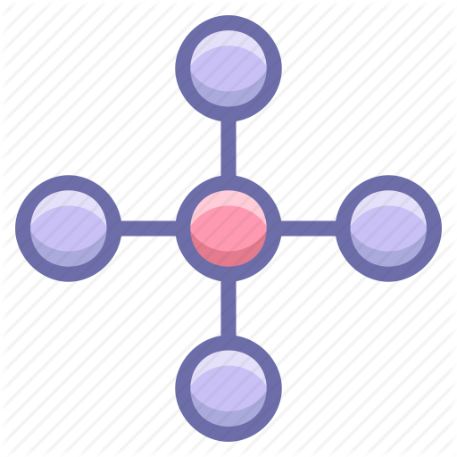 Central, Link, Network, Share Icon