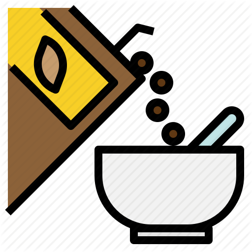 Box, Breakfast, Cereal, Meal, Nutritious Icon