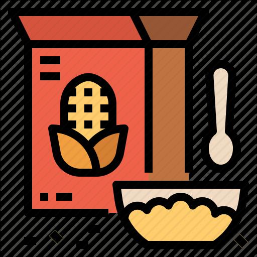 Breakfast, Cereal, Grain, Wheat Icon