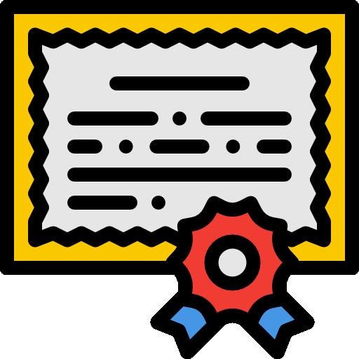 Certificate Icon Learning Freepik