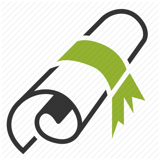 Certificate Icon Free Png