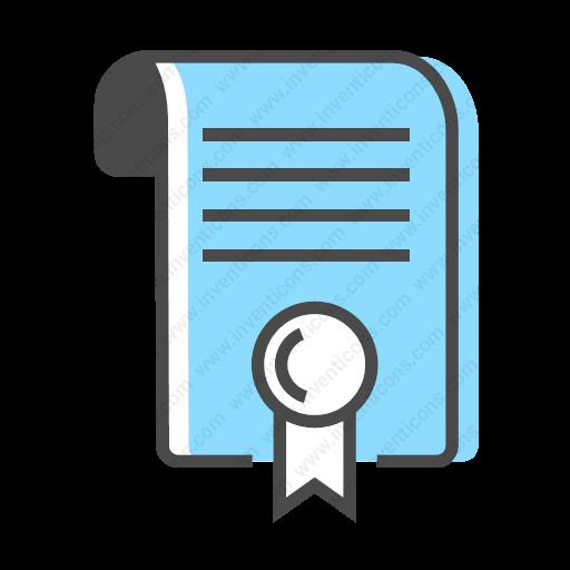 Download Job,certificate Icon Inventicons