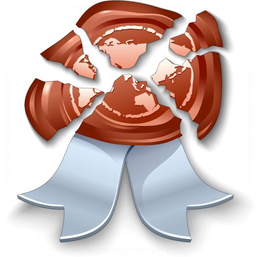Iconexperience V Collection Certificate Broken Icon