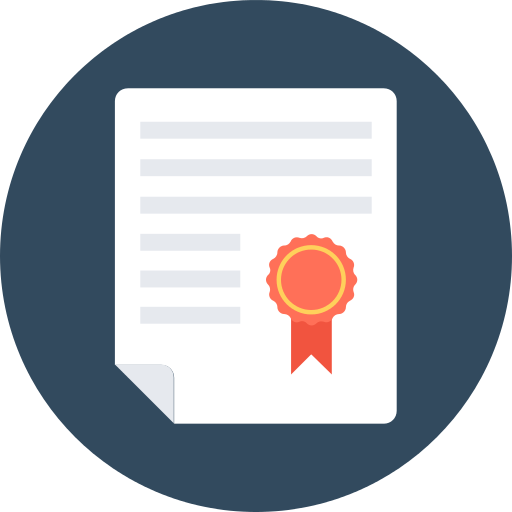 Certificate Contract Png Icon