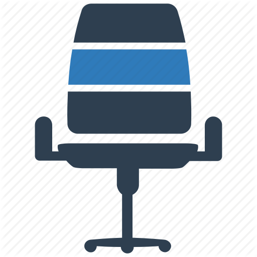 Business, Chair, Desk, Furniture, Office Chair Icon