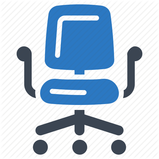 Business, Furniture, Office Chair Icon