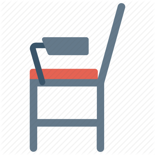 Chair, Furniture, School, Student Chair Icon Icon