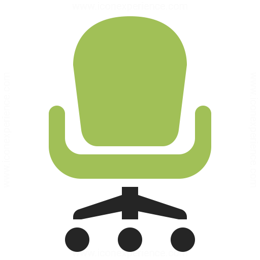 Office Chair Icon Iconexperience