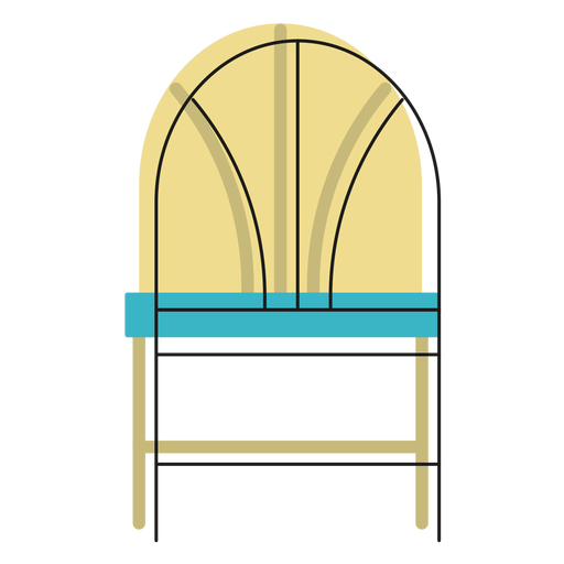 Wheat Back Chair Icon