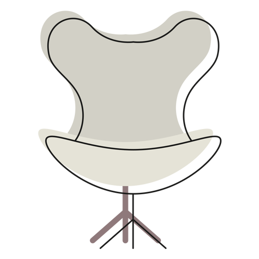 Egg Chair Icon