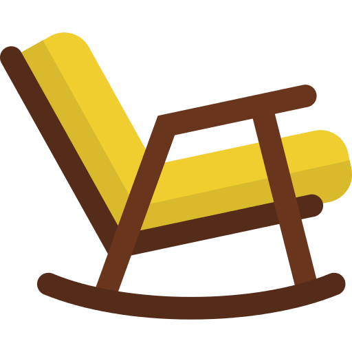 Rocking Chair Chair Png Icon