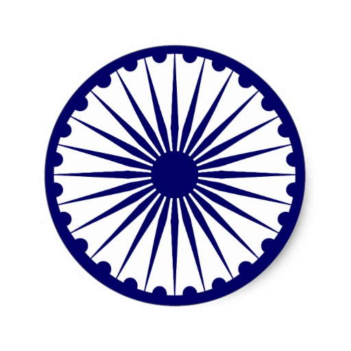 Best Ashoka Chakra Indian Flag Png Clipart