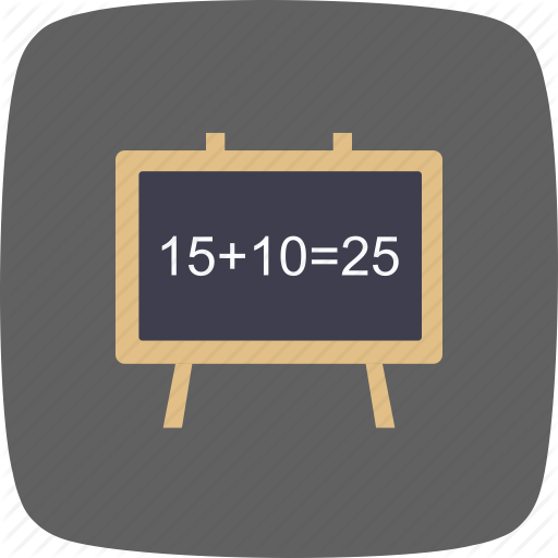 Black Board, Chalk Board, Class Room Icon