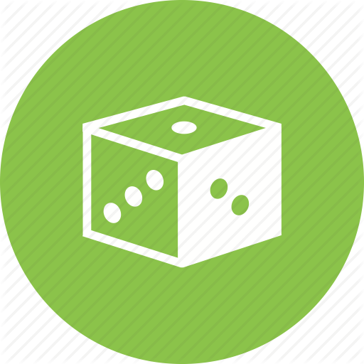 Chance, Cube, Dice, Gambling, Game, Luck, Rolling Icon