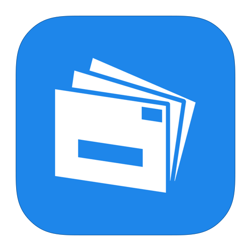 Live, Mail, Metroui Icon